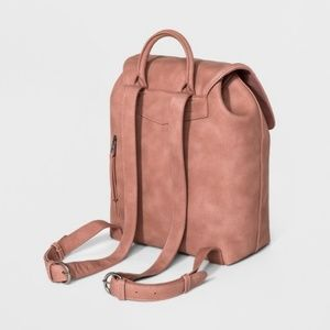 Structured Flap Backpack - Universal Thread™ Blush